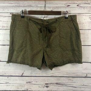 SANCTUARY Plus Size Palmaflouge Shorts, NWT, sz 32